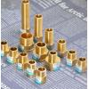 对丝五金四分管弯头全铜内丝外丝水管分水暖三通4直接接头件配件